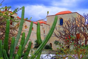 El Jardín Etno-Botánico y el ex-convento de Santo Domingo